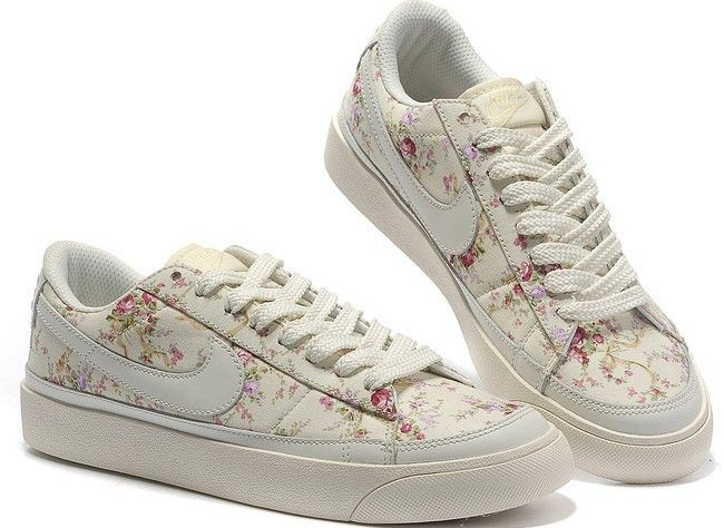 Casual Femme Chaussures Nike Blazer Low Blanc Rose,HOT SALE!