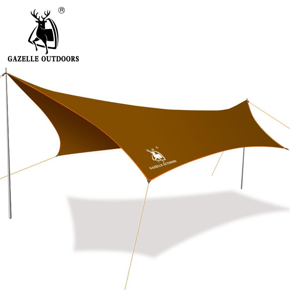 300cm * 400cm Iron Poles Anti UV Ultralight C&ing Sun Shelter Waterproof Beach Tent Awning Canopy  sc 1 st  Pinterest & 300cm * 400cm Iron Poles Anti UV Ultralight Camping Sun Shelter ...