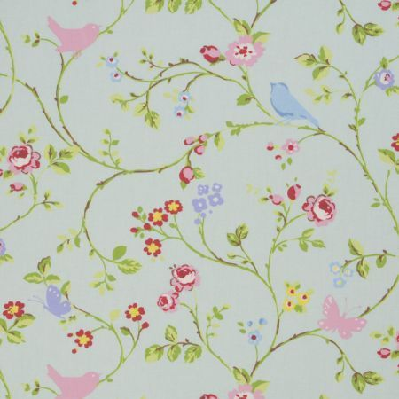 Prestigious Textiles Flower Garden Cotton Floral Curtain Fabric4 Colours