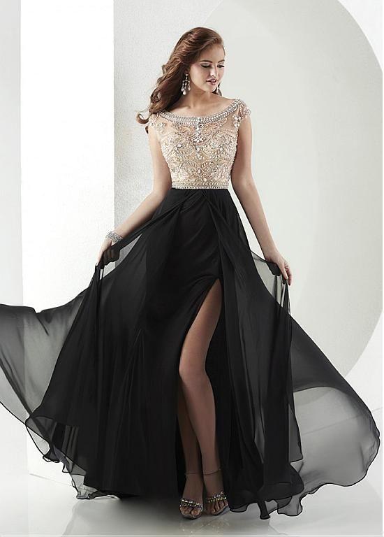 Vestidos largos elegantes para comprar
