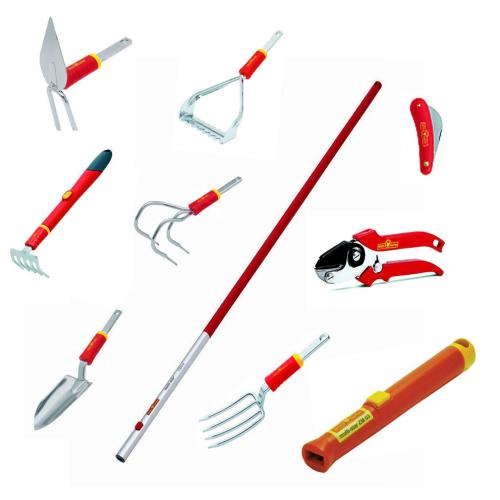 Superb WOLF Garten Flower Garden Tool Kit Ships With A FREE WOLF Garten Tote Bag