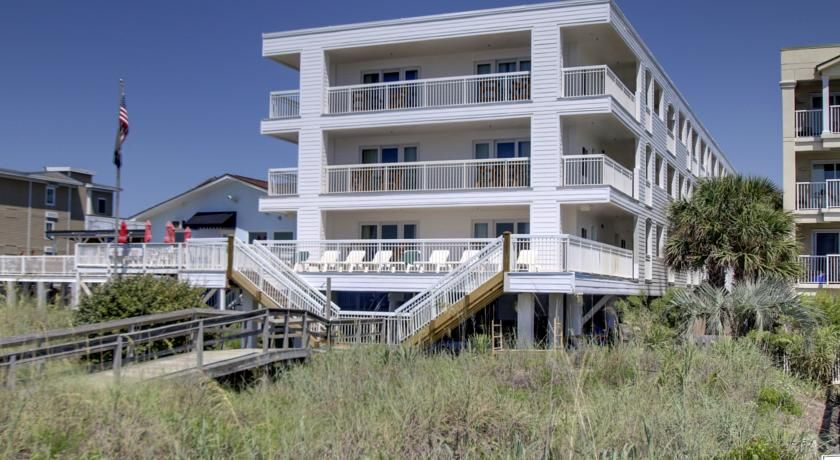Seaside Inn Isle Of Palms This Oceanfront Hotel Is Placed Directly On