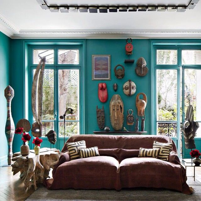 Architectural Digest Stefano Pilati S Eclectic Paris Duplex