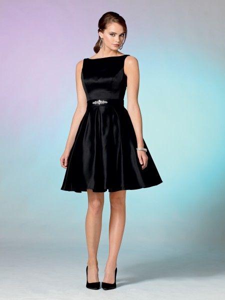 Jordan Fashions Black Bridesmaid Dress Style #: 857. Shown in Black ...
