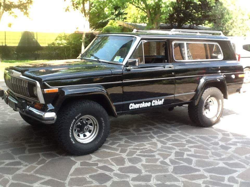 1982 Jeep Cherokee Chief Jeep Wagoneer Jeep Parts Vintage Trucks
