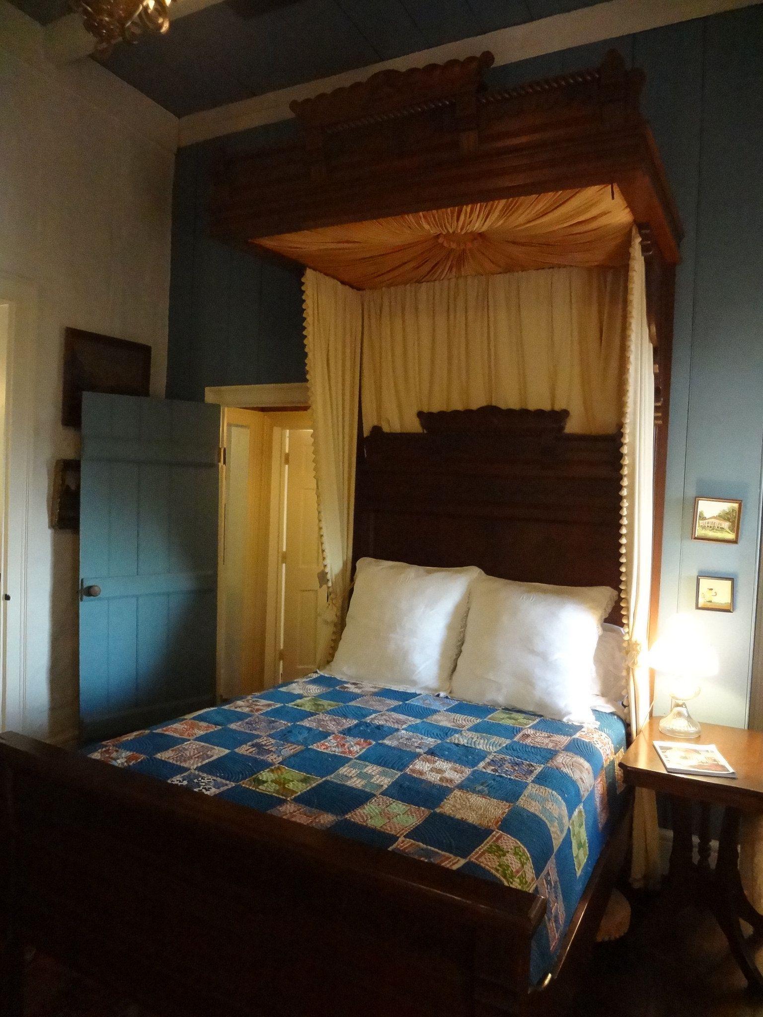 5th wheel master bedroom  Cherokee Plantation Nachitoches LA  DSC  Southern