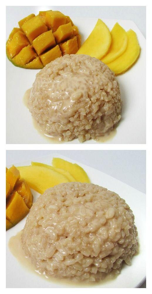 Mango Sticky Rice Recipe!