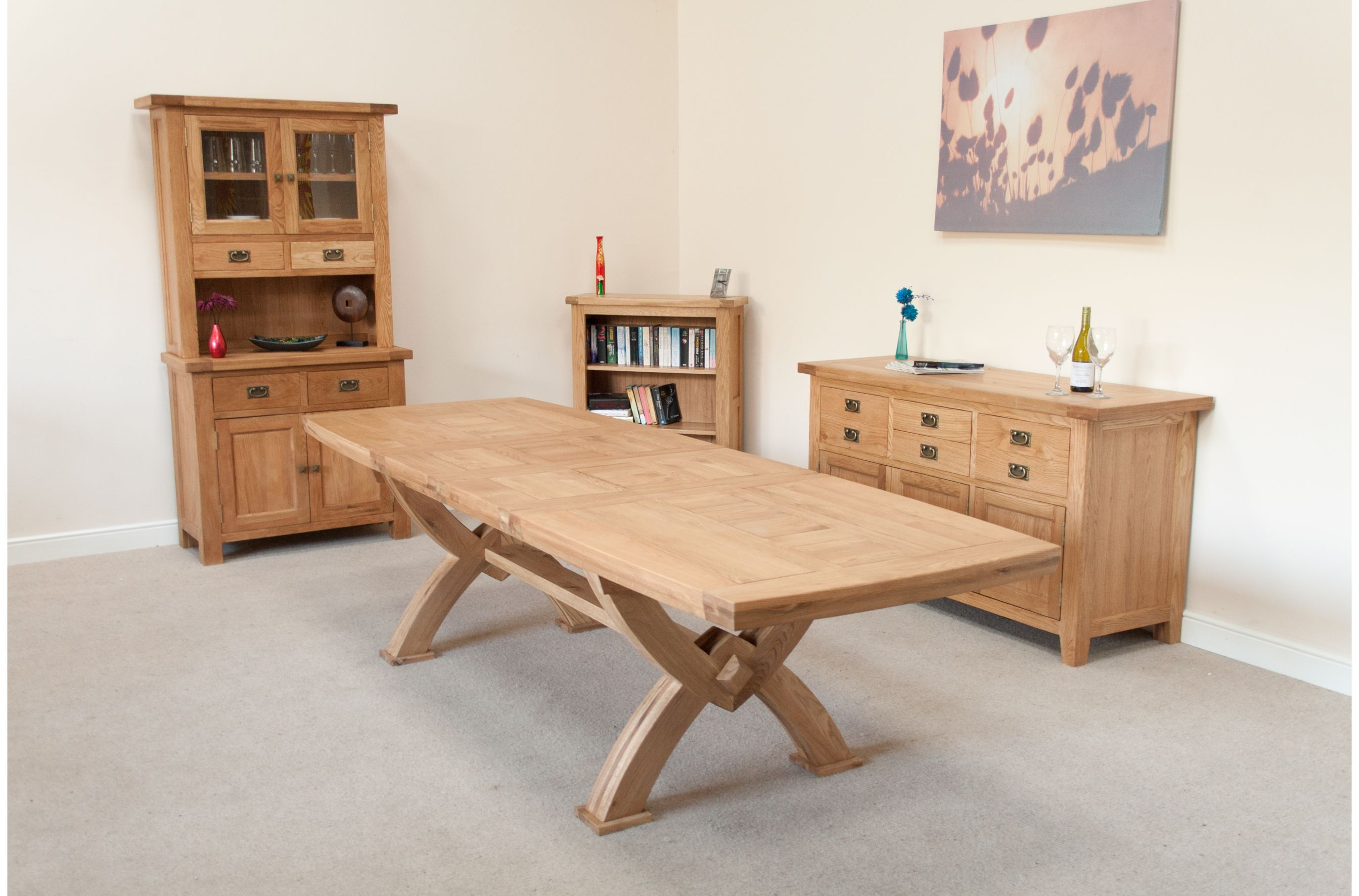 Large Square Oak Dining Table  Go To Chinesefurnitureshop For New Dining Room Tables That Seat 10 Decorating Design