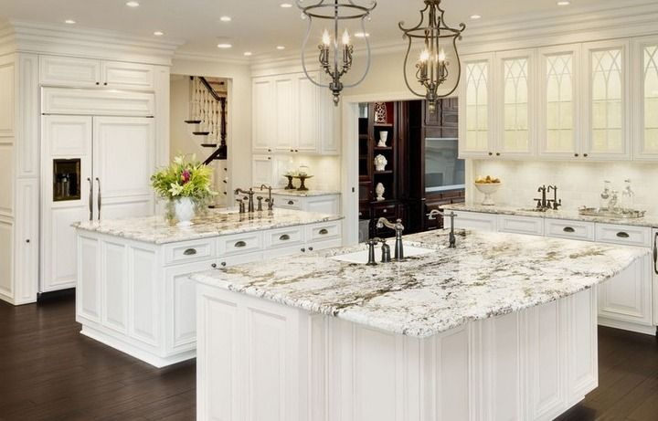 How To Design Kitchen Island Classy Double Island Kitchen Designs  Google Search  Kitchen Island Decorating Inspiration