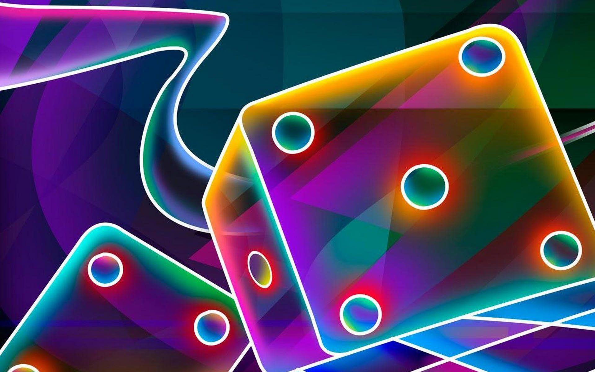 Backgrounds For Cool 3d Color Backgrounds 3d Neon Wallpaper