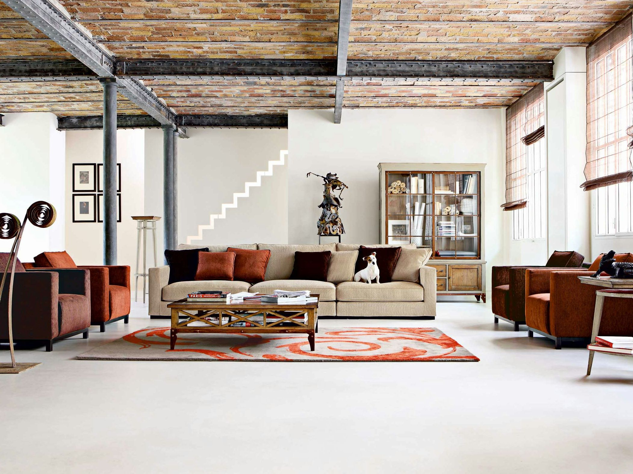 Long island roche bobois d co pinterest meuble for Meuble long salon