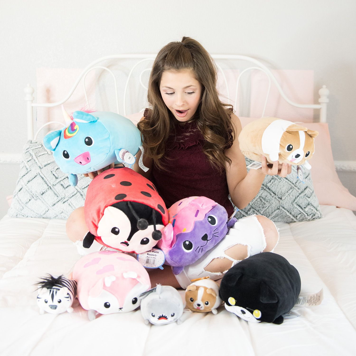 Our Moosh Moosh Pillows Are Ready To Play Pick Up Your Favorite Character At A Cvs Pharmacy Near You Favorite Character Character Ready To Play