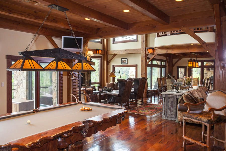 Residential & Commercial | Timber frame homes, Home, Game ...