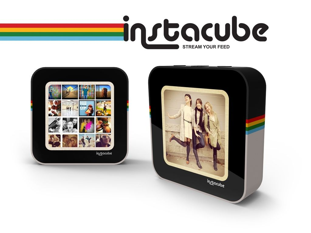 Instacube: A Living Canvas for your Instagram Photos project video ...