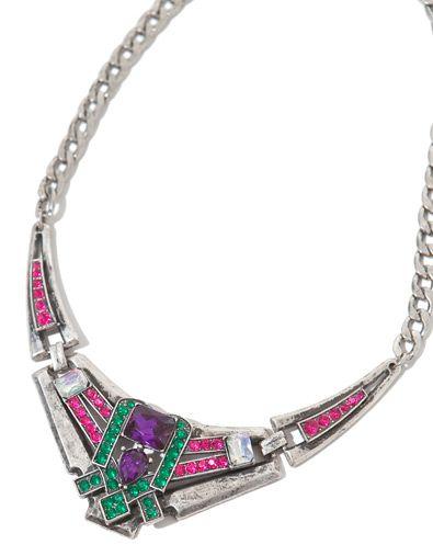 ART NOUVEAU GEOMETRIC LINK NECKLACE - Accessories - Accessories - Woman - ZARA India