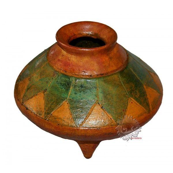 Petits Pots Decoratifs Terre Cuite Artisanat Mexicain Petits Pots