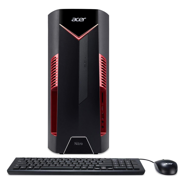 Acer Nitro 50 N50 600 Ur12 Desktop Techguard Computing Gaming Desktop Intel Core Acer