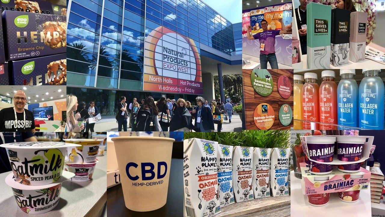 Trendspotting at Expo West 2019: CBD explosion, oatmilk on fire