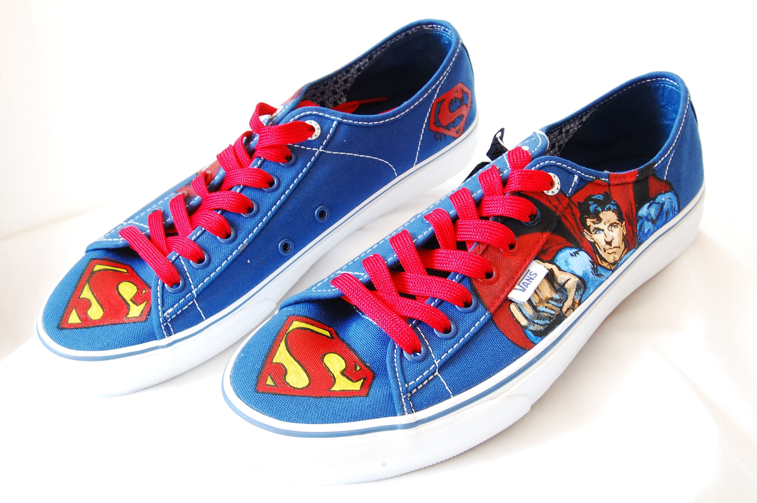 Superman Vans Sneakers, Shoes, High top sneakers