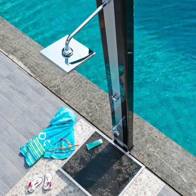 Solar Shower For Pools Avec Images Douche Solaire Douche Piscine Exterieure