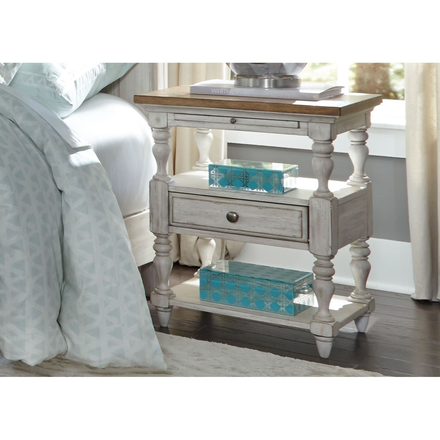 Philo End Table with Storage in 2020 Side table with