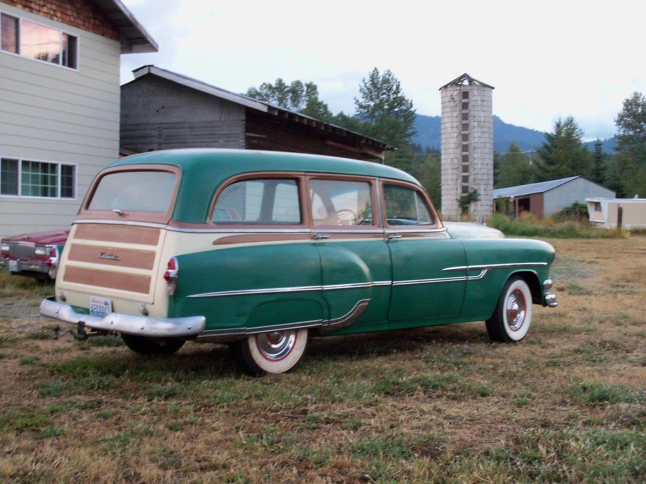 1956 chevrolet belair mjc classic cars pristine -  53 Pontiac Chieftain Tin Woody Station Wagon