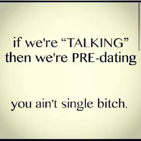 Pre dating relationship