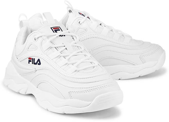 Sneaker RAY LOW WMN | Weiße sneaker, Fila sneaker und Schuhe