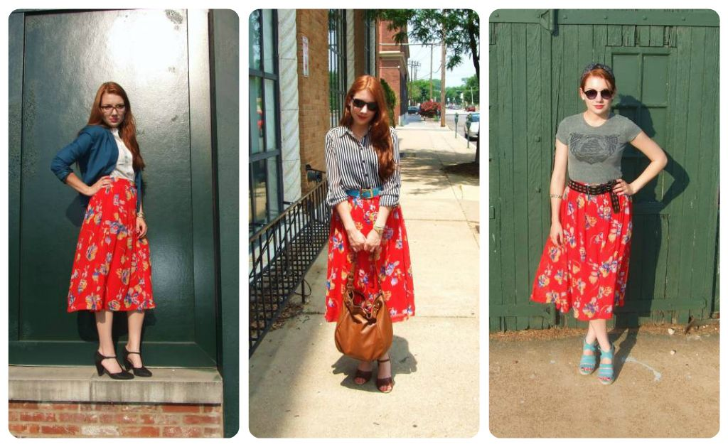 17 Best images about In My Closet: Floral Midi Skirt on Pinterest ...