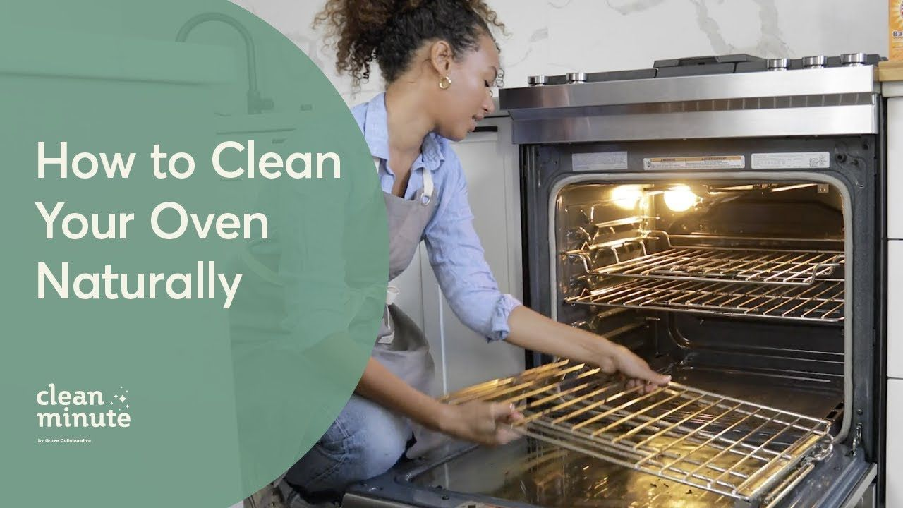 How To Clean Your Oven Naturally Using Baking Soda Vinegar
