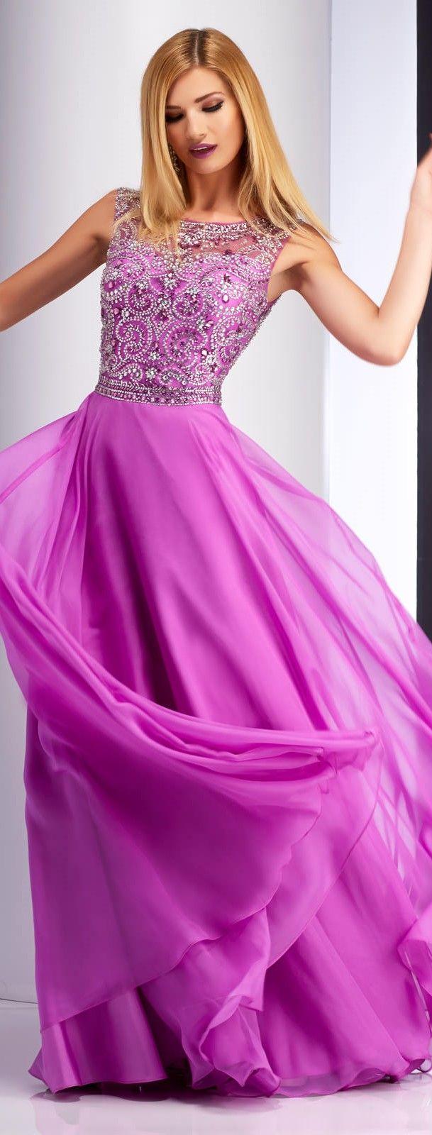Clarisse Sparkling A-line Prom Dress 2838 | Vestidos para fiesta de ...