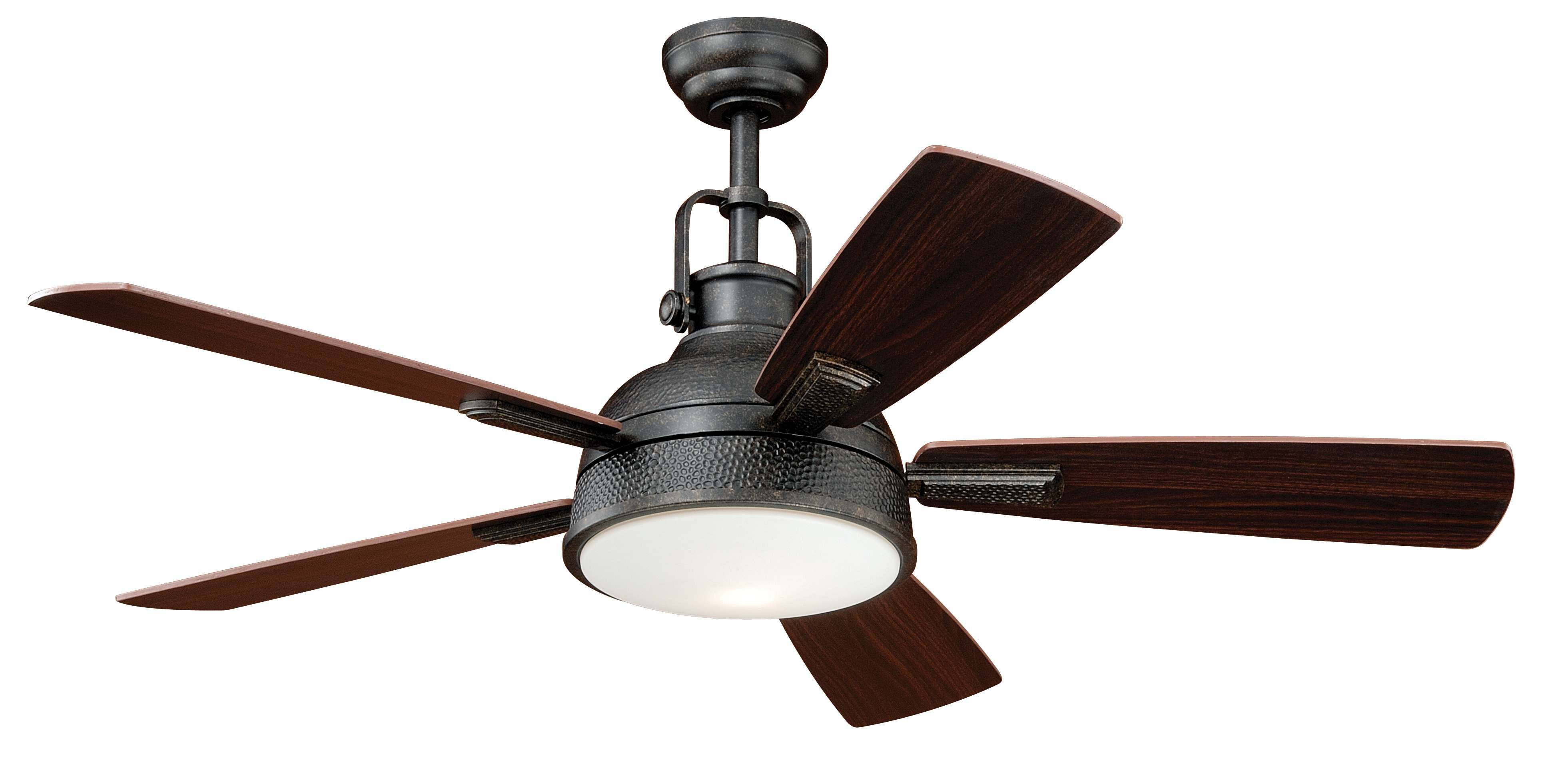 Black And Gold Ceiling Fan Walton 52