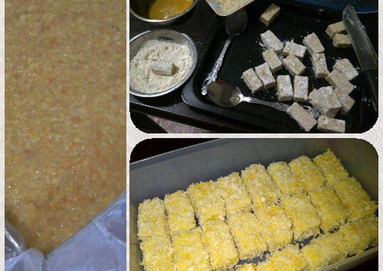 Resep Nugget Ayam Wortel Homemade Lbh Sehat Oleh Amei Resep Makanan Dan Minuman Makanan Wortel