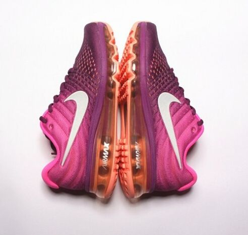 2543113714 Beautiful Color Nike Air Max 2017 Deep Purple Orange Shoes Get Cheap ...