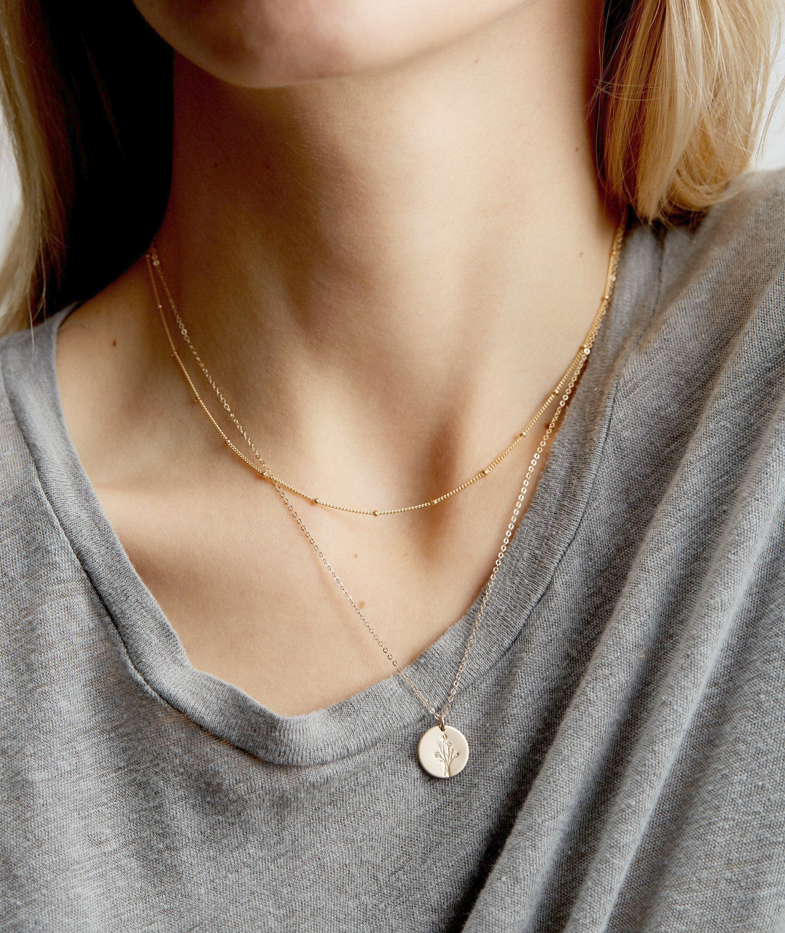 Rose Gold Necklace On Brown Skin Unless Jewellery Exchange Nj Concerning Jewellery Logos Images Beneath Jewell Layered Necklace Set Valentines Necklace Jewelry
