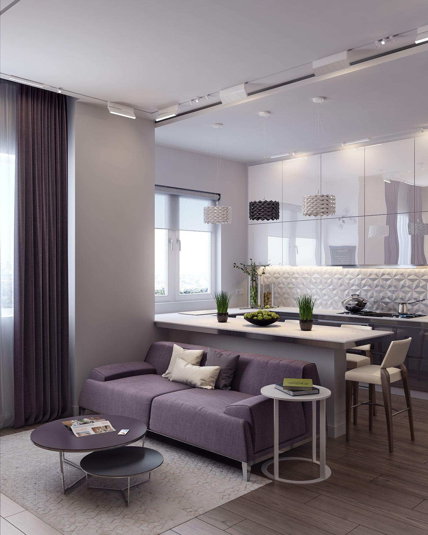 Living Room Condo Design: Hexa Sour On Behance In 2020
