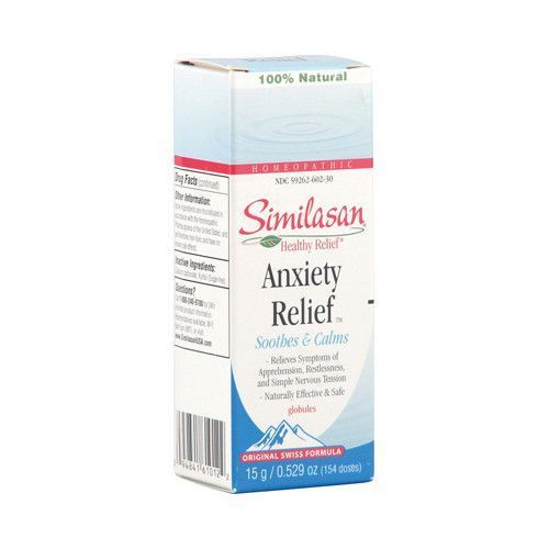 Similasan Anxiety Relief Description: Soothes and Calms - Relieves Symptoms of Apprehension, Restlessness, and Simple Nervous Tension - Naturally Effective and Safe - 100% Natural - Homeopathic There' #anxietyrelief