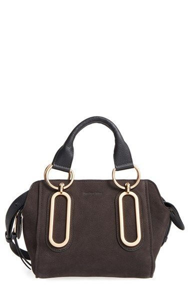 Free shipping and returns on See by Chloé 'Small Paige' Leather Crossbody Bag at…