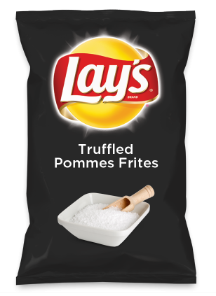 Wouldn't Truffled Pommes Frites be yummy as a chip? Lay's Do Us A Flavor is back, and the search is on for the yummiest chip idea. Create one using your favorite flavors from around the country and you could win $1 million! https://www.dousaflavor.com See Rules.