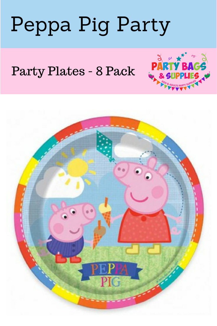 These adorable plates go with all the other Peppa Pig tableware at Party Bags u0026 Supplies  sc 1 st  Pinterest & These adorable plates go with all the other Peppa Pig tableware at ...