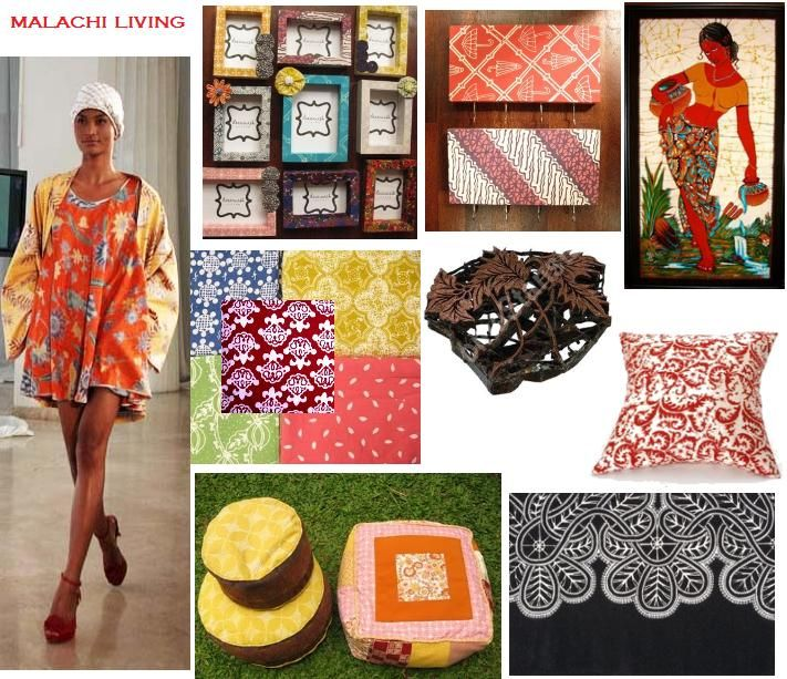 MOODBOARD: BATIK INSPIRATION FROM RUNWAY To YOUR HOME