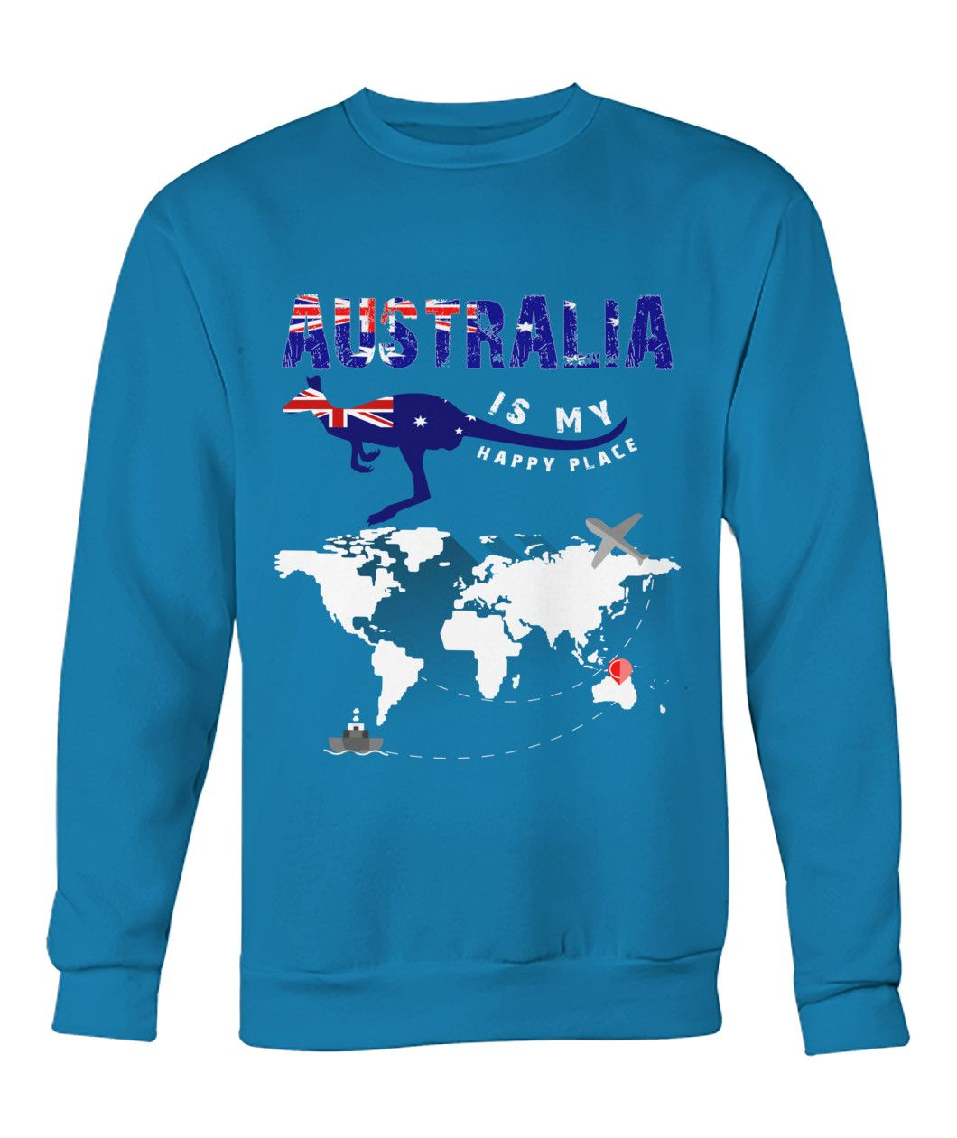 Australia lover christmas sweater sweatshirt jumper