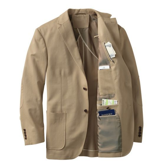 Men's Bedford Cross-Country Jacket at TravelSmith Outfitters, Find ...