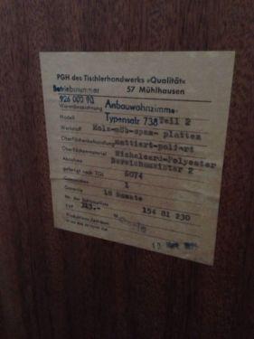 DDR Schrank Vitrine 50er 60er 70er In Leipzig   Südwest   Wohnwand  Gebraucht Kaufen   EBay