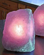 Purple Salt Lamp Amazing Persian Salt Crystal Lamps Blue Purple Persian Salt Lamps Release Decorating Design