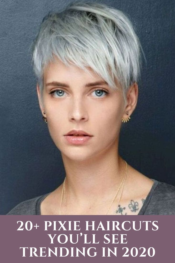 20 Pixie Haircuts You Ll See Trending In 2021 In 2020 Short Hair Trends Pixie Haircut Short Hair Styles