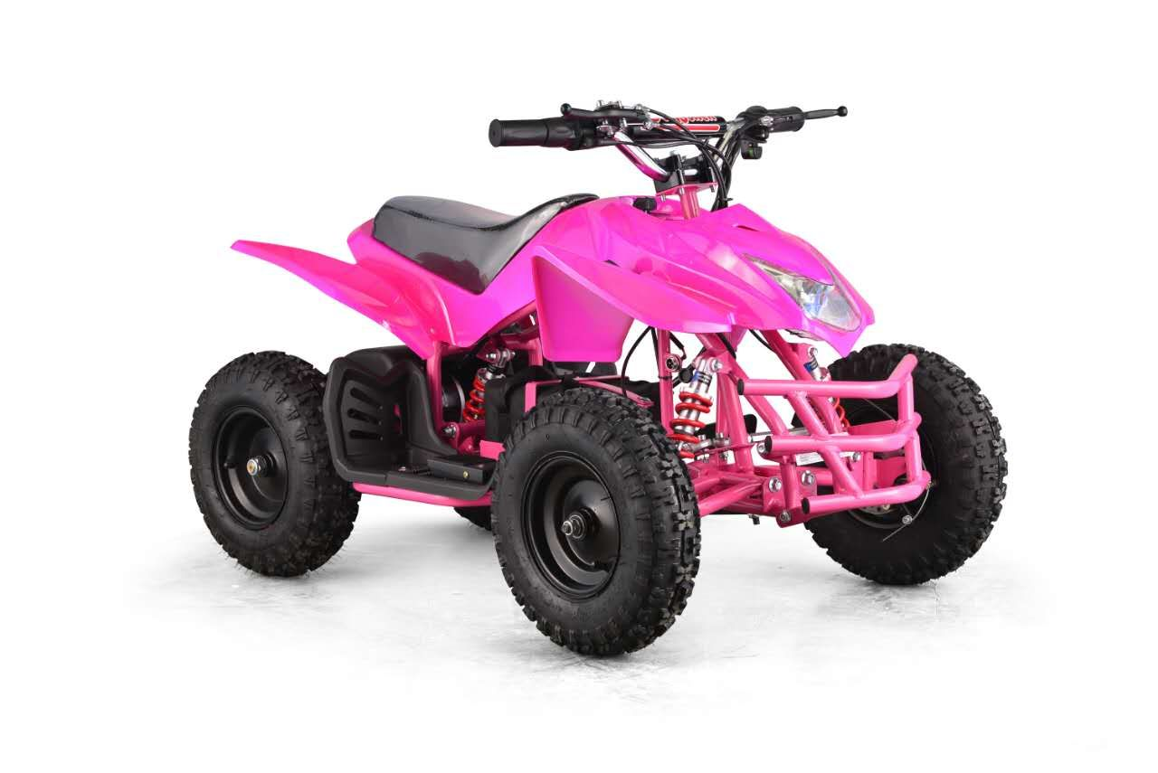 titan atv for kids 24 volt battery powered 4 wheeler with adjustable speed and reverse
