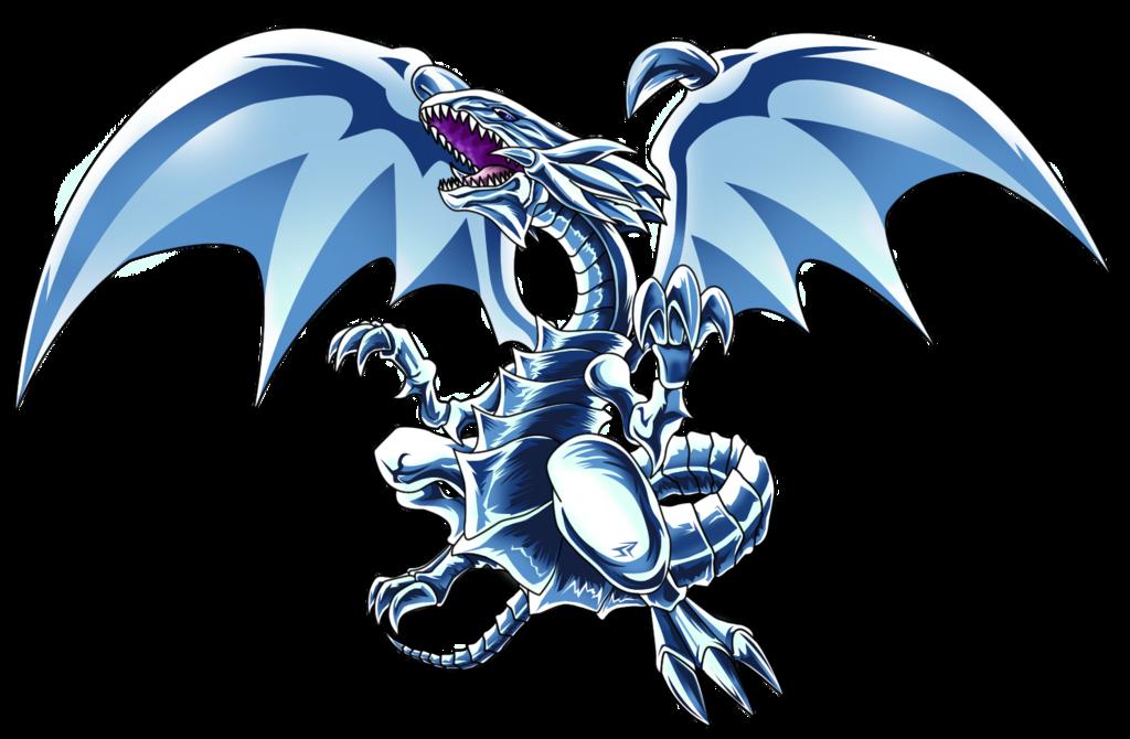 Blue Eyes White Dragon Dragones Pegatinas Yu Gi Oh