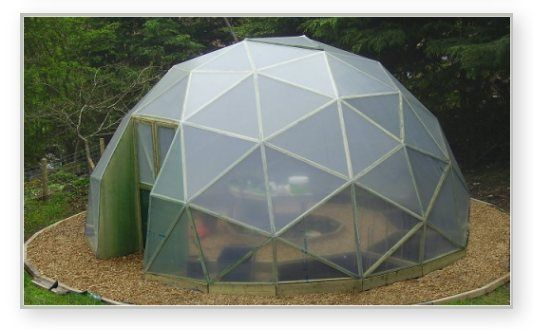 GD27 6 meter dome greenhouse | Dome | Pinterest | Dome greenhouse ...