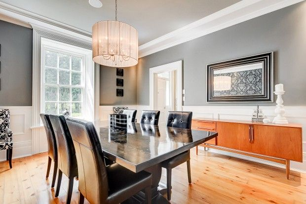 292 South River Road. Centre Wellington, ON. Dining room.
